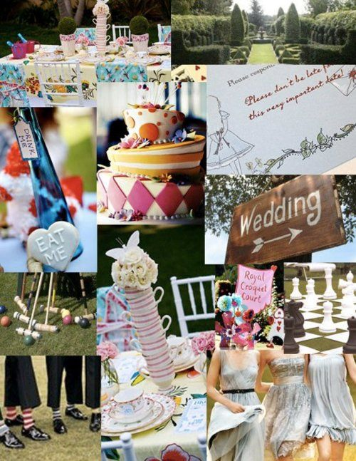 ... in wonderland mariage wonderland thème mariages à thème mariage 3 1