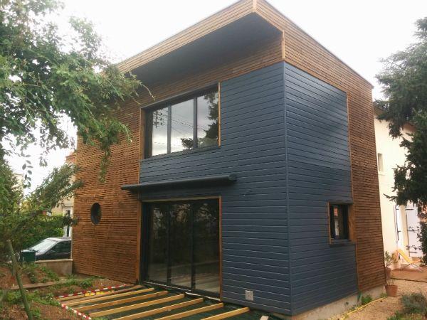 Extension bois kanopy constructeur de maison en bois for Constructeur maison contemporaine poitiers
