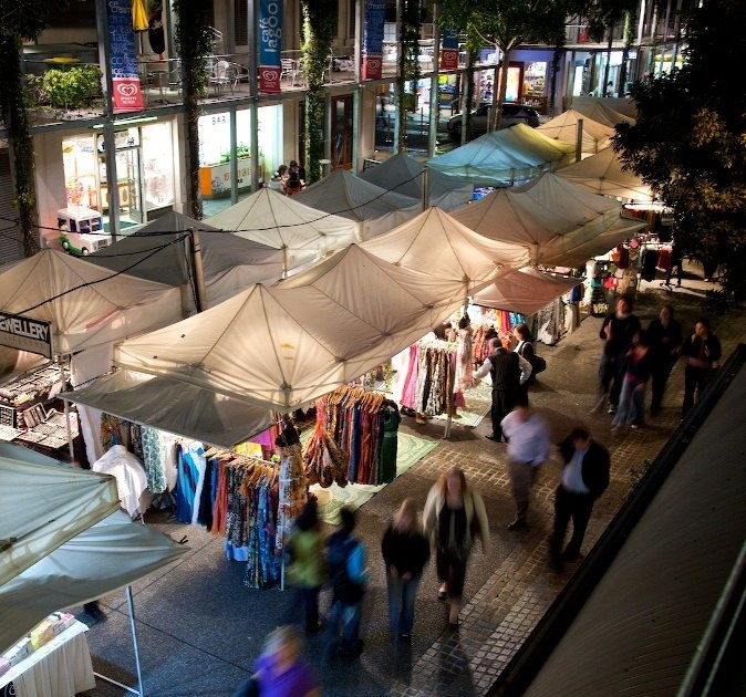 South Bank's The Collective Markets #Brisbane #market #southbank