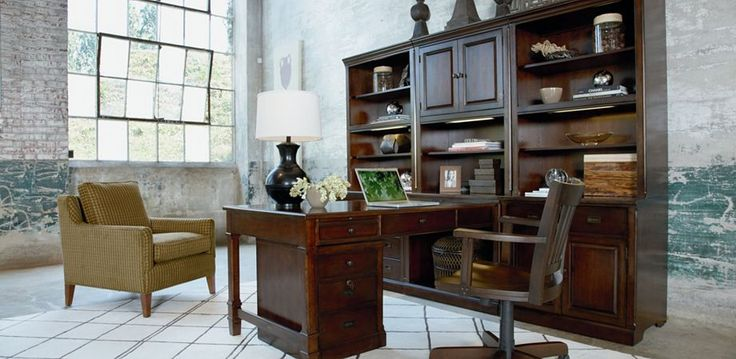 Thomasville Workstyles Office Collection Demonstrates