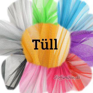 toller TÜLL uni NEONGRÜN, 150cm breit, ideal für Petti