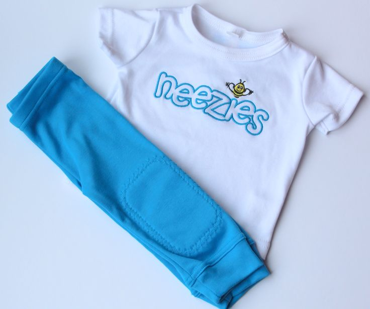 Bright and fun azure blue Neezies!  Shop www.neezies.com