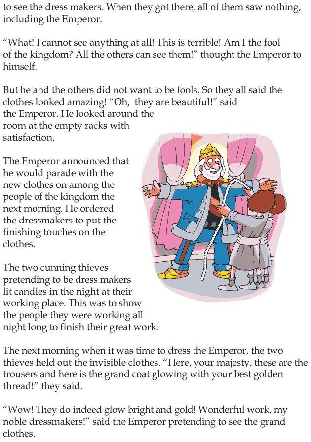 Classic Literature: The Emperor's New Clothes