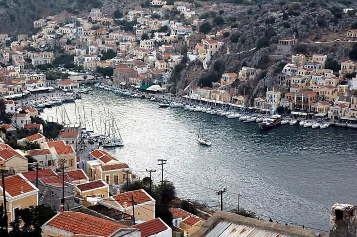 Harbour, #Symi Island, #Greece