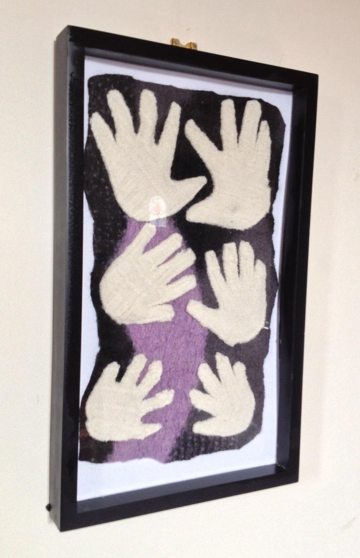 Fabric Handprints