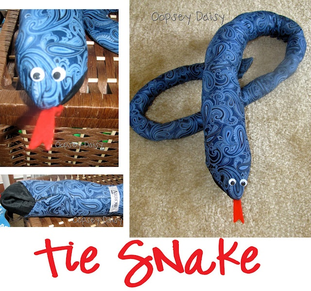 Snake ties...maybe fill them with rice and microwave it when you need a little heat on your neck.