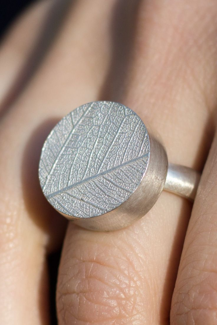 Pin Auf Ringe Silber