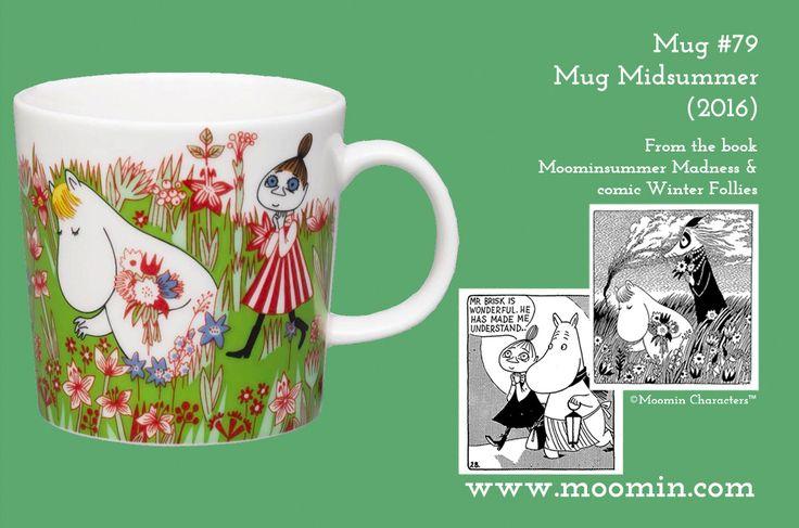 79 Moomin mug Midsummer