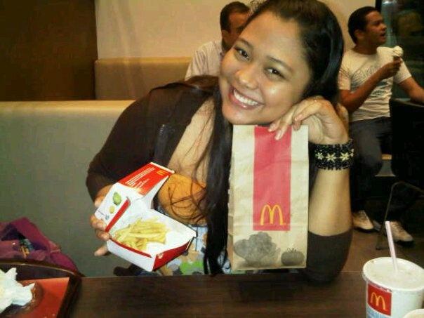 McDonalds Time!! Woho... yeah that's me