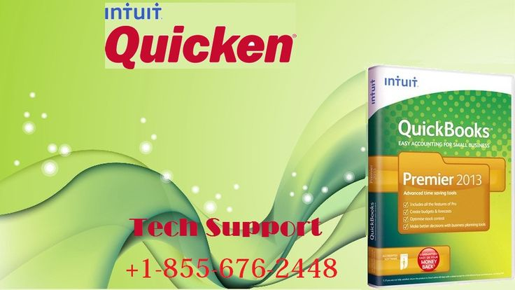 Keep your banks updated and final reports ready. Use Quicken. Call +1-855-676-2448 for online help.