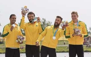 Canoe / Kayak Sprint - Men K4 1000m - Brazil