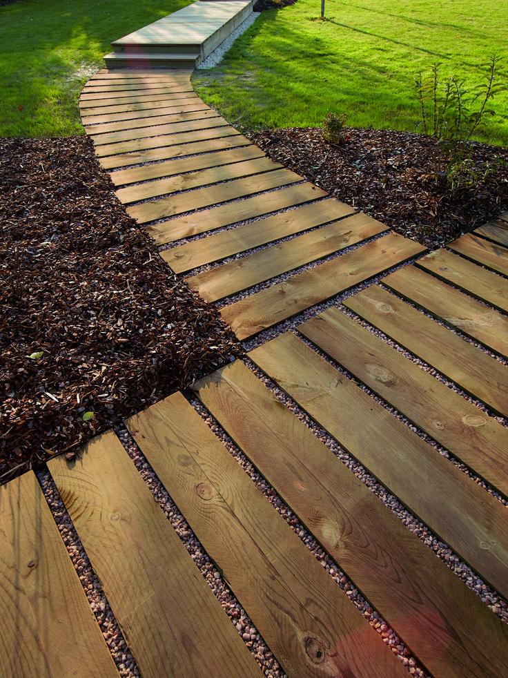 #traverse #aménagement #extérieur #bois #moderne #écologique