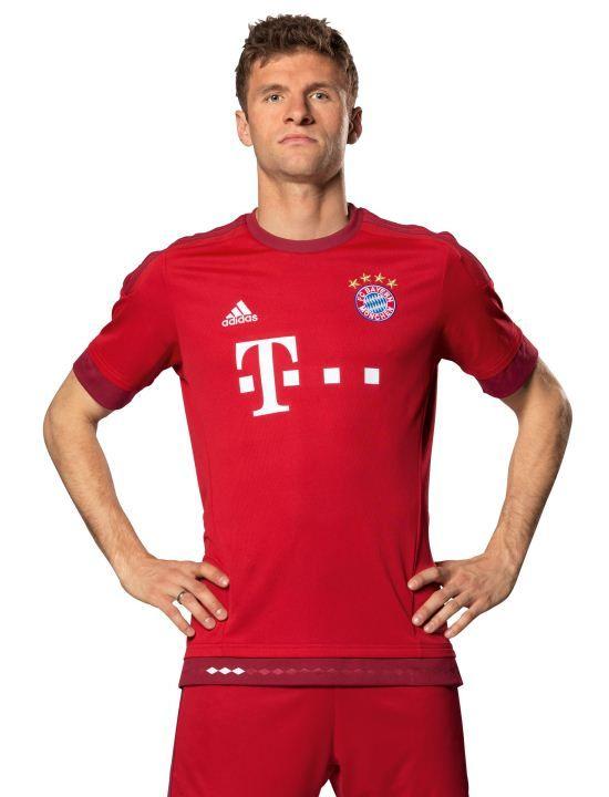 New Bayern Munich Jersey 2015-2016- Adidas FC Bayern Home Kit 15-16