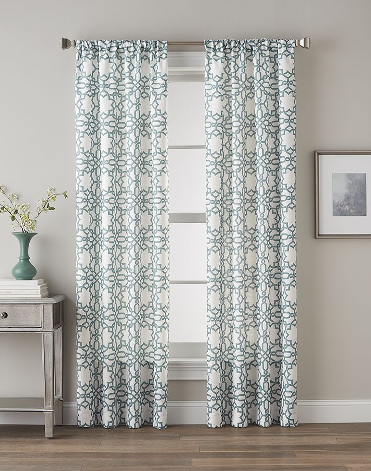 lotus harmony curtain panel inexpensive