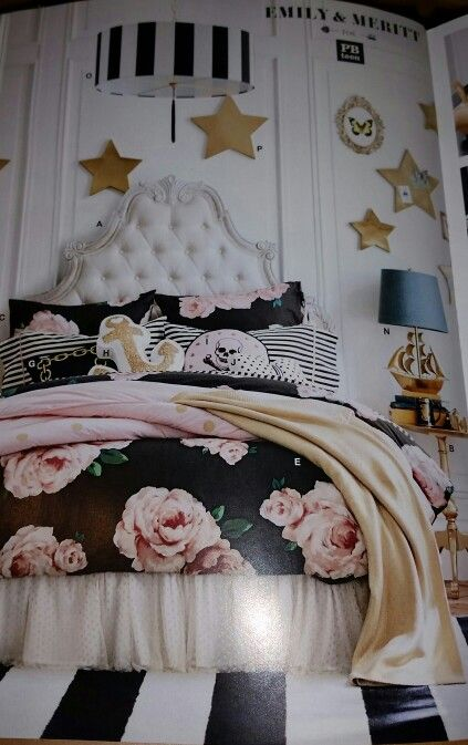 80 Best Emily Merritt Bed Of Roses Pottery Barn Teen