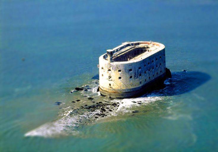 Fort Boyard near Oléron Island, France