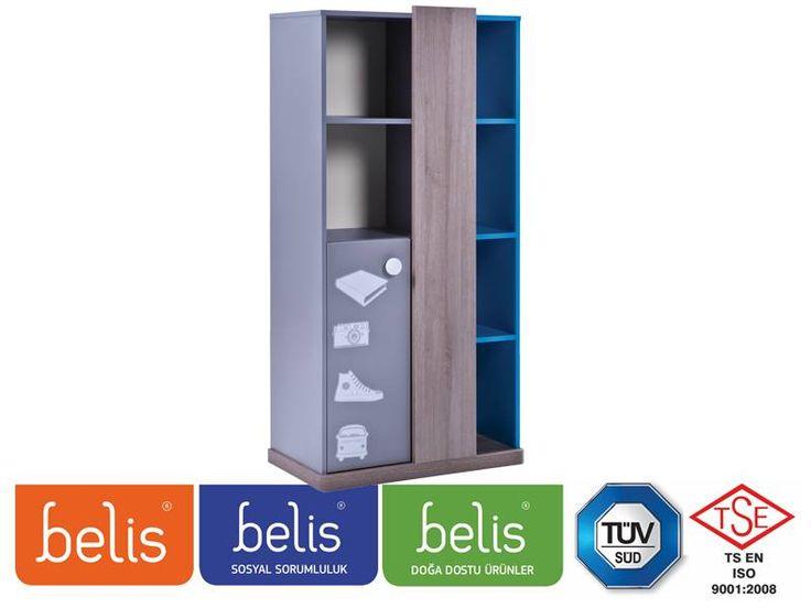 Belis Cool Kitaplık TR5168 | Kitaplık | E-Belis - Bebek Odası,Bebek Karyolası