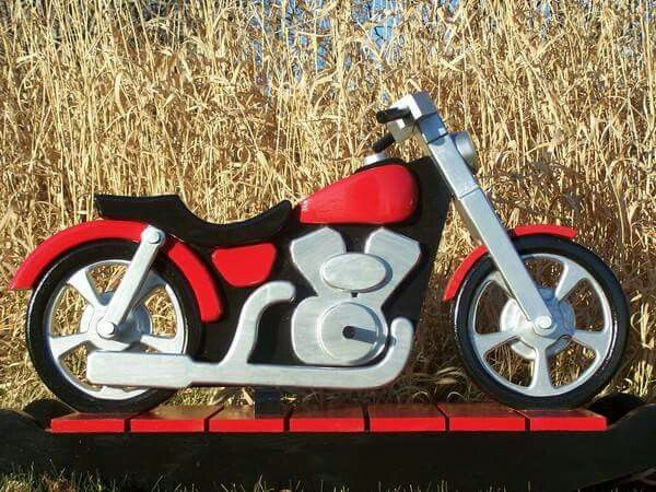 1000 images about wooden motorcycle rocker on pinterest for Woodworking plan for motorcycle rocker toy