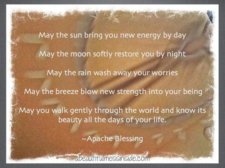 apache blessing Quote posters, Funny inspirational