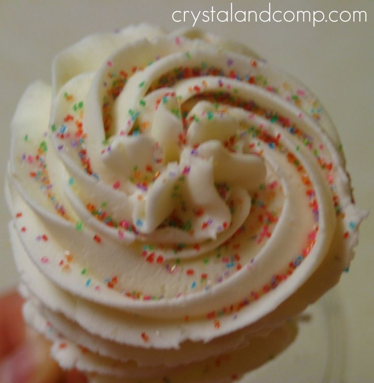 homemade buttercream icing.  This is awesome icing, I just made it!