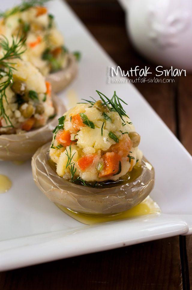Enginar Çanağında Sebzeli Püre Tarifi | Mutfak Sırları