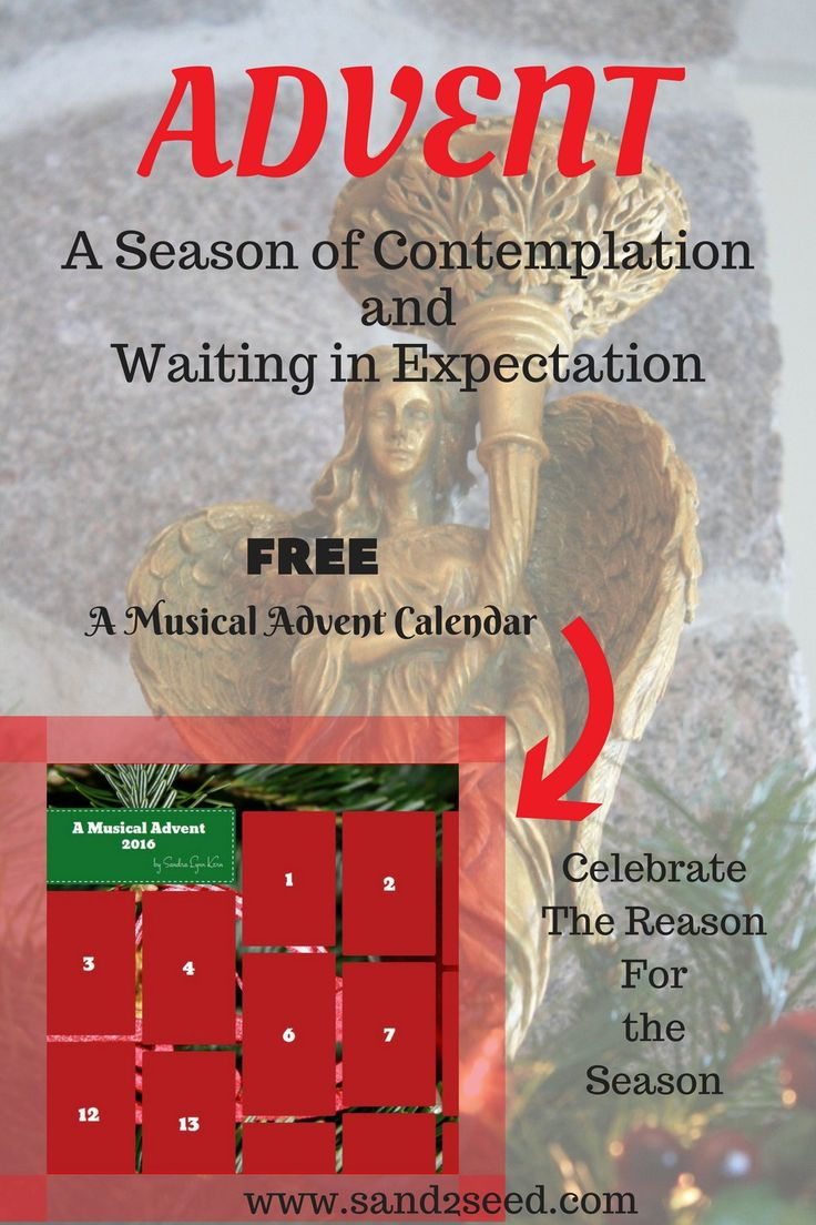 The season of Advent is here, time for contemplation about the coming King of Kings.  A free calendar with festive photos, nativity story and music to celebrate each day leading to Christmas.
