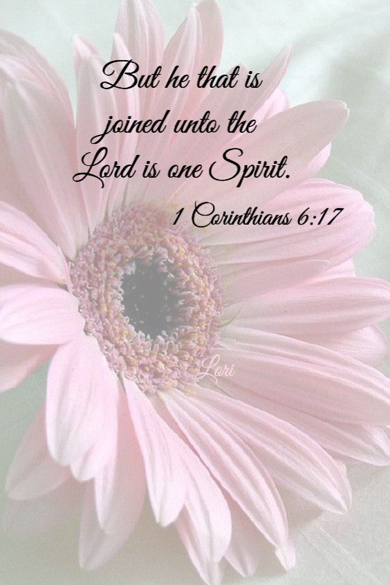 Swoon! United with Christ by His Spirit - what a glorious grace!