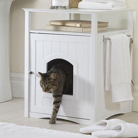 Joli caisse à chat