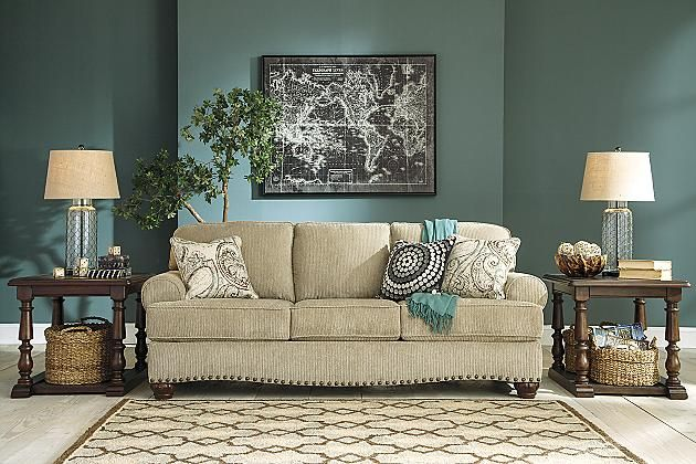1000 Images About Ashley Furniture On Pinterest Brown Finish Marketing News And Contemporary