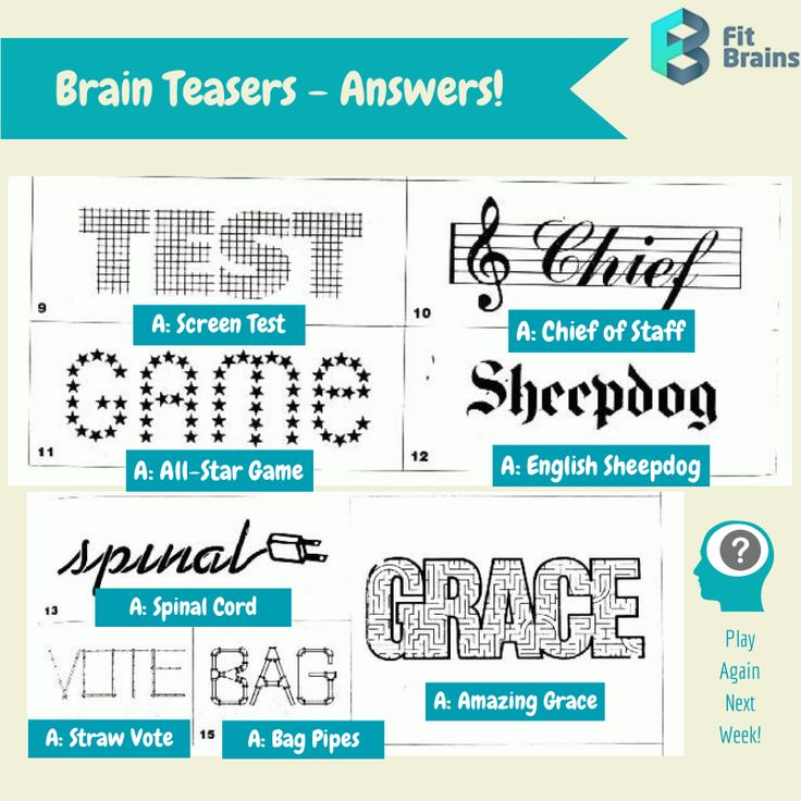 Brain teasers critical thinking activities
