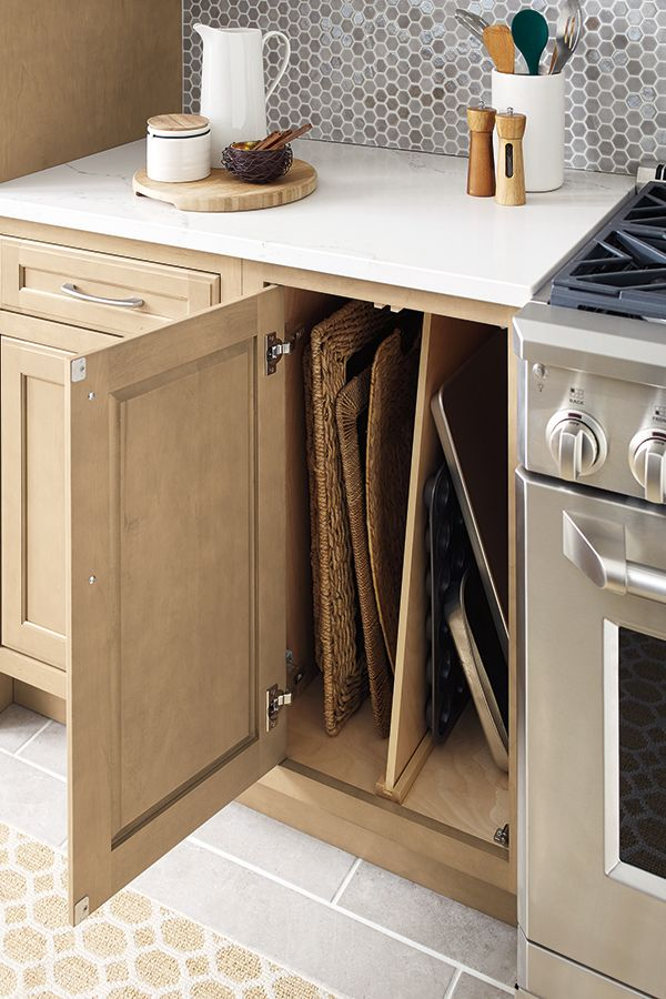 Maximize Your Kitchen Storage With Innovative Solutions From Masterbrand Cabinets That Make Th Kitchen Innovation Outdoor Kitchen Design