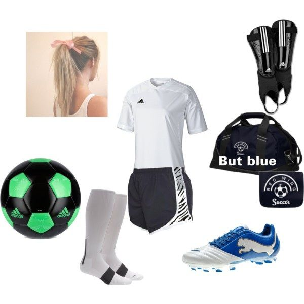 Soccer outfit and Props, Bring in all the gear to give the pull effect