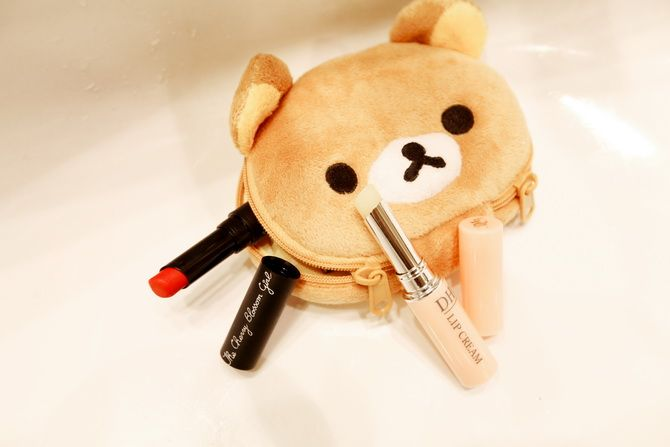 Rilakkuma Bear makeup bag