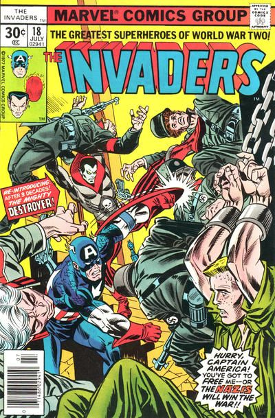 Anthony's Comic Book Art :: For Sale Artwork :: Invaders, The #18 ...