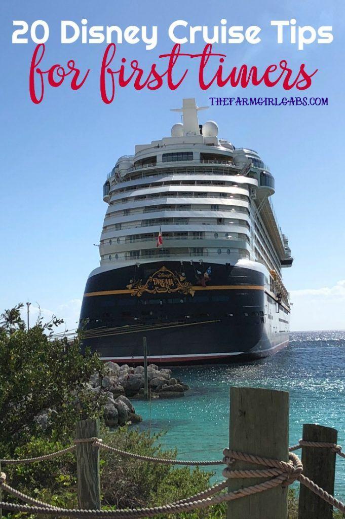 20 Tips For First Time Disney Cruising   On The Blog   Pinterest