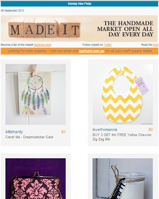 Love From Annie: Madeit - Monday New Finds