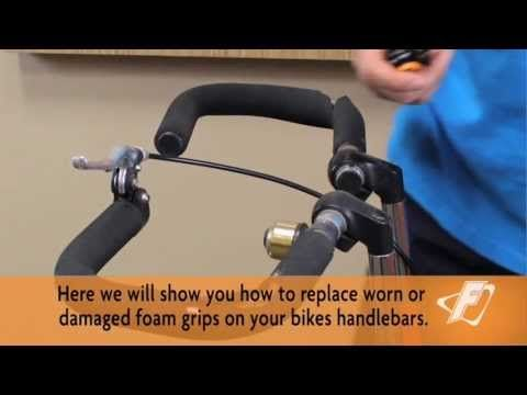 Replacing Foam Grips on Handlebars Video for Freedom Concepts Adaptive Tricycles