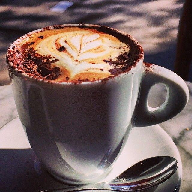 Café Venetia, Palo Alto. Very good coffee and bites.