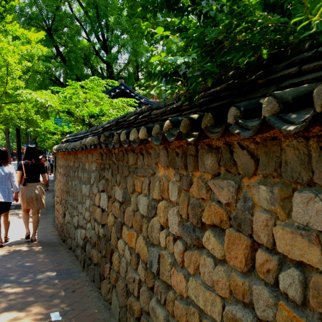 덕수궁 돌담길  Duksugung Stone-wall  Korean Traditional Royal Palace
