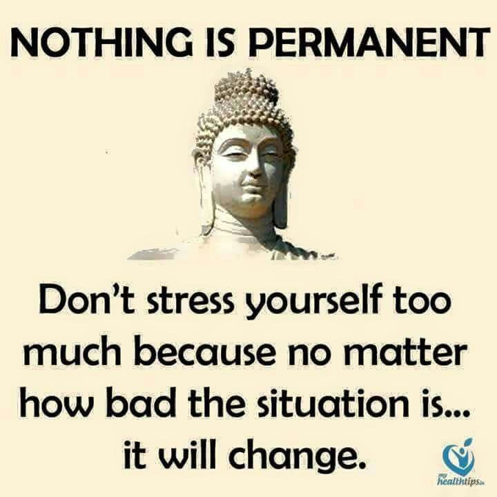 Daily bit from Oren Loni on advice about life from one of my favorite philosophies from the teachings of Buddha.