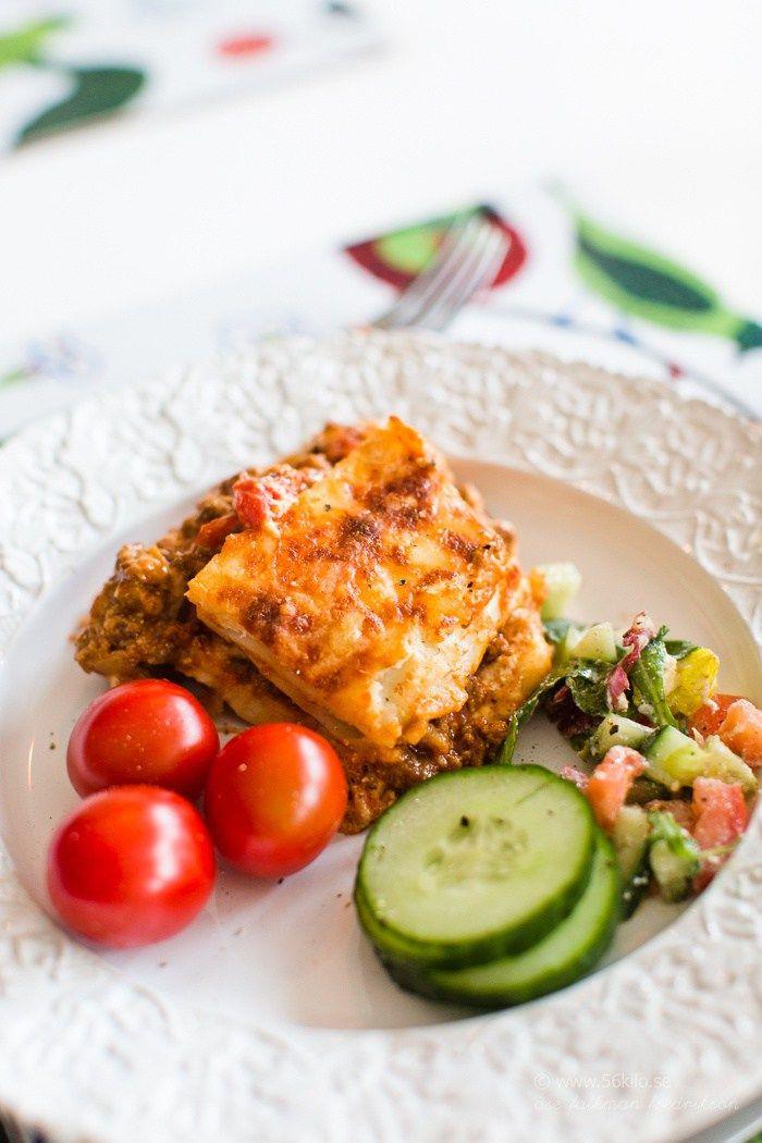 Godaste lasagnen och lite annat!