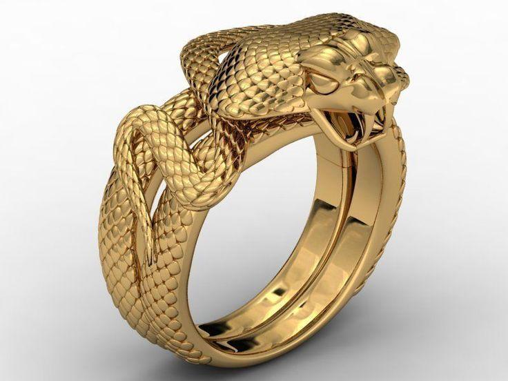 ring cobra no gem 3d model stl 3dm 1