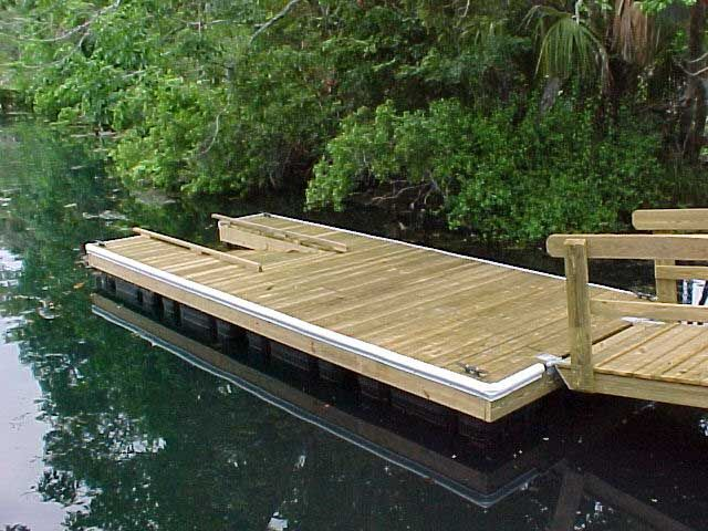 Kayak launch floating dock! We might have no choice but to build this :)
