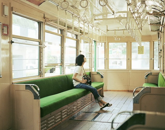 alone on a major Asian public transportation system?!--priceless.     {not to mention IMPOSSIBLE--thanks for the dream though!}