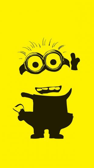 Yellow Minion - The iPhone Wallpapers