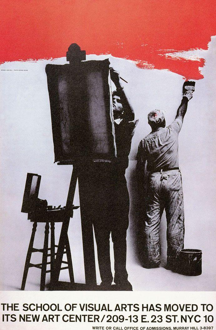 Bob Gill poster for SVA