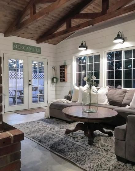 Farmhouse Style Livingroom Joanna Gaines Beams 21 Super Ideas