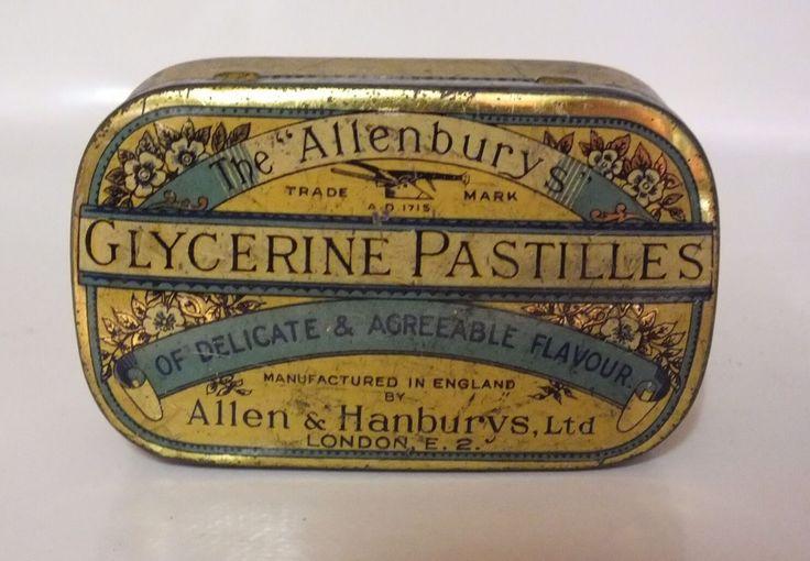 Vintage British Tin With Superb Advertising On It - C.1960's - Honest - Ref 0617 | eBay