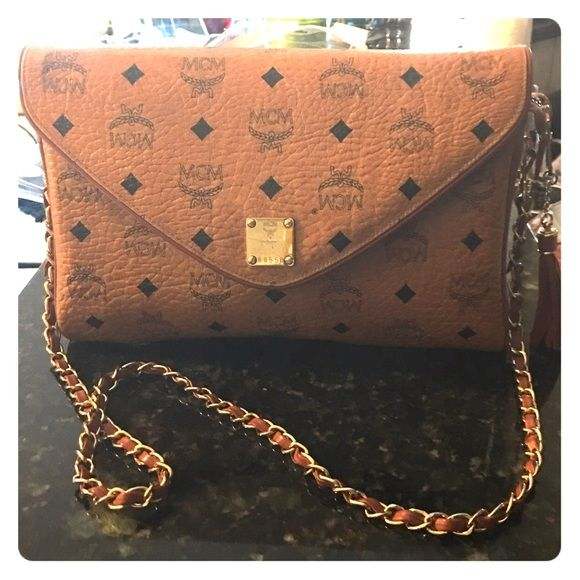 MCM Crossbody Authentic MCM Bag, in excellent condition.  Rare Item. MCM Bags Crossbody Bags