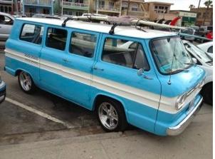 Ultimate surf Van
